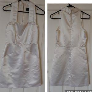BCBG Paris Satin Mini Dress